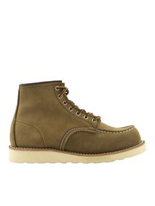 Red Wing shoes - Stivaletti 8881 6'' Classic Moc-Toe verde