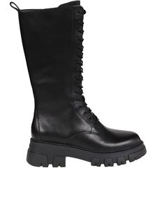 Ash - Lullaby 02 lace-up boots in black