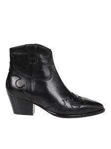 Ash - Harlow 05 ankle boots in black