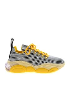 Moschino - Bubble Teddy sneakers in yellow and black