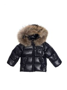 Moncler Jr - K2 down jacket in blue