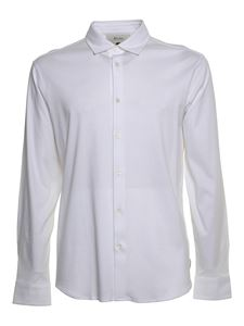 Z Zegna - Jersey shirt in white