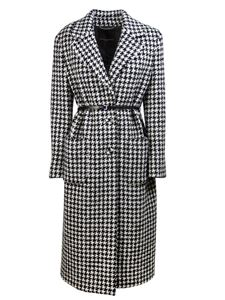 Ermanno Scervino - Houndstooth coat