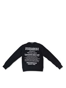 Dsquared2 - Dsquared2 Canadian Heritage sweatshirt in black