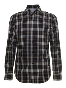 Eleventy - Checked shirt in blue