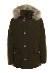 Woolrich - Tactel® padded parka in brown