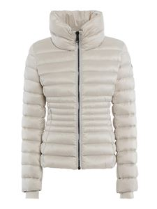 Colmar Originals - Funnel neck puffer jacket in cream colour