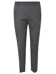 Incotex - Checked suit pants in gray