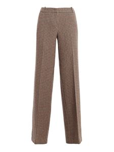 Drumohr - Houndstooth pants multicolor