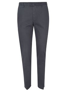 Incotex - Micro-patterned pants in grey