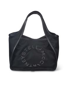 Stella McCartney - Tote bag Stella Logo in black