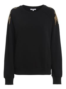 Patrizia Pepe - Sequined sweatshirt in black