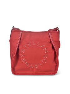Stella McCartney - Small Hobo bag in red