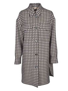 Stella McCartney - Kerry coat in shades of brown