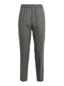 Peserico - Grisaille pants in grey