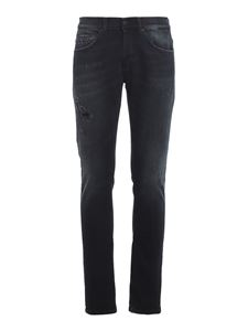 Dondup - Pantaloni George denim stretch blu