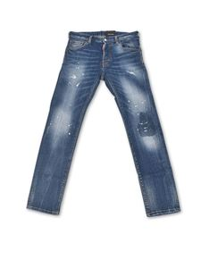 Dsquared2 - Jeans Caten Heated blu