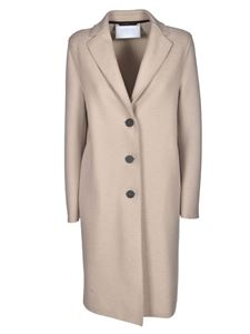 Harris Wharf London - Unlined coat in almond color