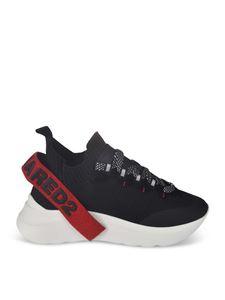 Dsquared2 - Sneakers Low Top Speedster nere