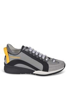 Dsquared2 - Sneakers Lace Up Low Top grigie