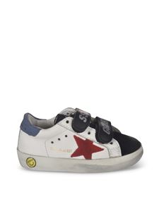 Golden Goose - Sneakers Old School bianche e nere