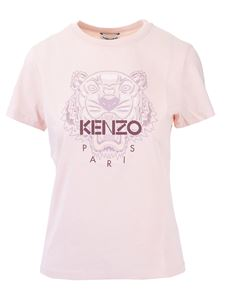 Kenzo - Tiger T-shirt in faded pink