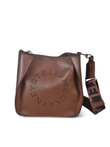 Stella McCartney - Logo mini bag in brown