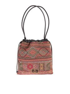 Etro - Cashmere print bag with drawstring