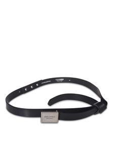 Dsquared2 - Dsquared2 Milano belt in blue