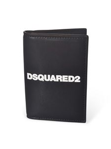 Dsquared2 - Wallet with Dsquared2 logo in black