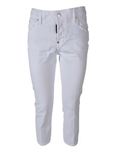 Dsquared2 - Jeans Cool Girl Cropped bianchi