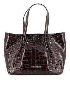 Ermanno Scervino - Giovanna small tote in brown
