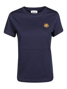 Kenzo - Tiger crest T-shirt in blue