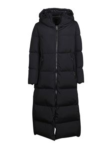 Herno - Laminar padded coat in black
