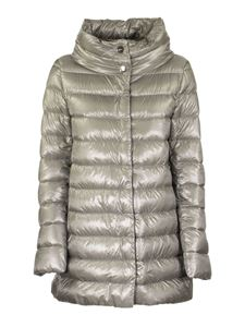 Herno - Amelia ultralight padded coat in grey