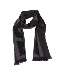 Dsquared2 - Dsquared2 scarf in black and grey