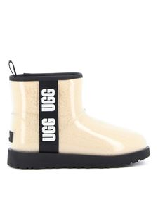UGG - Classic Clear Mini ankle boots in beige