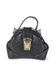 Manu Atelier - Micro Demi bag in black