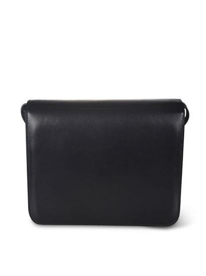 Manu Atelier - Roxy leather bag in black