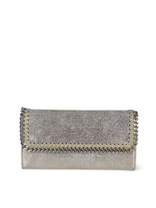 Stella McCartney - Continental Falabella wallet in platinum color
