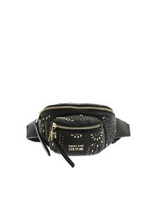 Versace Jeans Couture - Micro studs belt bag in black