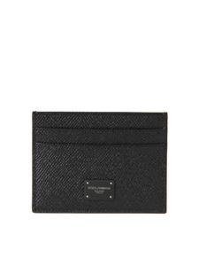 Dolce & Gabbana - Dauphine card holder in black