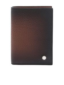 Orciani - Leather wallet in faded brown