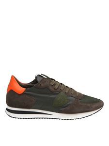 Philippe Model - Sneakers Tropez in suede e tessuto