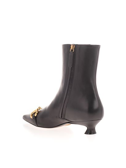 Gucci - Horsebit ankle boots in black