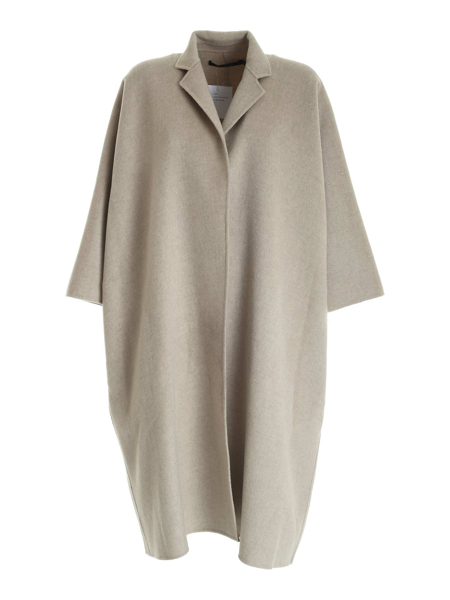 Sofie D'hoore WOOL AND CASHMERE COAT IN BEIGE