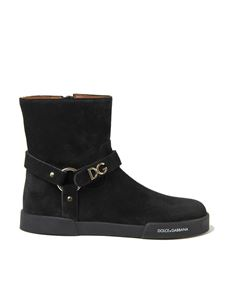 Dolce & Gabbana - DG ankle boots in black