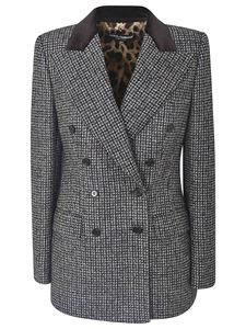 Dolce & Gabbana - Houndstooth jacket in black and white
