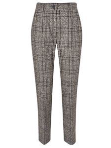 Dolce & Gabbana - Checked tailored pants in brown
