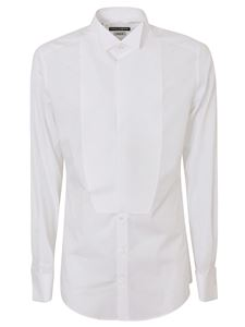 Dolce & Gabbana - Plastron shirts in white